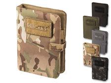 Mil-Tec Tactical Notebook Small DIN A5 Dokumentenmappe Notizblock Schreibmappe