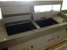 More details for used haddock 2 pan gas fired fish frying range,very good condition.