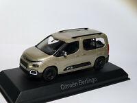 Citroën Berlingo vitré de 2020  au 1/43 de NOREV 155762 Sand