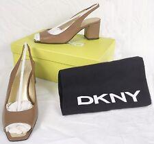 NEW $245 Donna Karan DKNY Shoes (Pumps Heels)!  9   *Tan*  *Made in Italy*