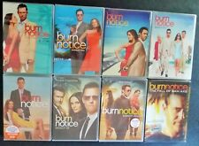 Burn Notice Season 1, 2, 3, 4, 5, 6 & 7 + Fall of Sam Axe DVD Series BRAND NEW