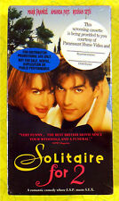 Solitaire For 2 ~ New VHS Movie Screener Promo Demo Tape ~ Amanda Pays Rare