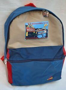 McDonald's Backpack Vintage 1998 Nostalgie Collection, Blue-Red-Gray Backpack