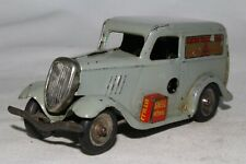 Triang Minic 588ms Ford Luce Consegna Furgone, Grigio, Originale 2