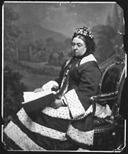 Queen Victoria 1872 OLD PHOTO
