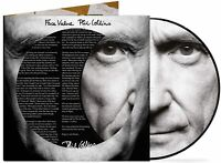 PHIL COLLINS - FACE VALUE - LIMITED EDITION PICTURE DISC VINYL *NEW & SEALED*