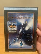 The Polar Express Dvd Full Screen New Sealed Free Shipping