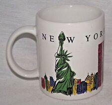 New York City NYC Twin Towers Coffee Mug World Trade Center Statue Liberty YEI