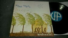 WOLVERLEI - WIND TEGEN -RARE 70's PRIVATE DUTCH PSYCH / PROG FOLK LP G/f Ex+/Ex