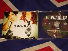 T.A.T.U. - all the things she said  4 trk MAXI CD 2002