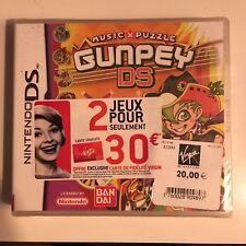 GUNPEY DS - Nintendo DS - PAL FR version - neuf sous blister