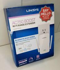 LINKSYS AC750 BOOST Wi-Fi Range Extender