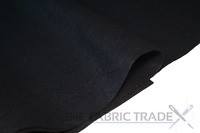 Black Craft Felt Fabric Material 100% Acrylic 1.5mm Thick 150cm Wide