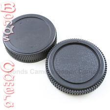 Body + Rear Lens Cap for Olympus Four Thirds 4/3 mount OM43 E620 E520 E410 E5
