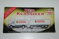 Werbetruck  Nostalgie Truck  Dortmunder Unio Bier  7