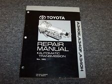 1992 1993 1994 1995 Toyota 4Runner A340H Transmission Service Repair Manual 4x4