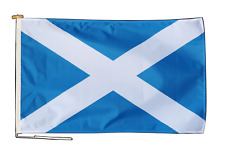 More details for scotland flag with rope and toggle - various sizes