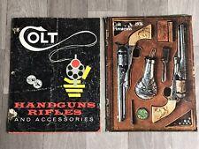 LOT Of 2 Vintage Colt Catalogs 1976 Woodsman New Frontier