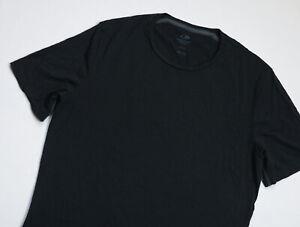 Icebreaker Merino Wool Base Tee T shirt mens Short Sleeve top size L Large black