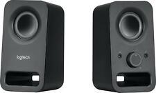Logitech - z150 2.0 Multimedia Speakers (2-Piece) - Black