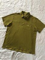 Arc'teryx Mens Polo Shirt Short Sleeve Size L Large Cotton Blend