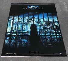 "2008 Dark Night, Batman Vinyl Double Sided Movie Banner 40"" X 60"" Heath Ledger"