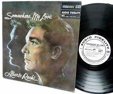 ALBERTO ROCHI Somewhere My Love STEREODISC Audio Fidelity Excellent vinyl cond.