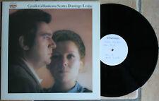 MASCAGNI / CAVALLERIA RUSTICANA / SCOTTO DOMINGO     33T  LP