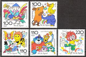 BRD 1998 Mi. Nr. 1990-1994 Postfrisch LUXUS!!!