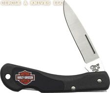 "CASE XX KNIFE -- HARLEY-DAVIDSON MINI BLACKHORN - 3 1/8"" CLOSED LENGTH LOCKBACK"