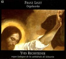 Yves Rechsteiner, F. Liszt - Organ Works [New CD]