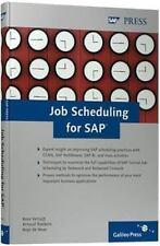 Job Scheduling for SAP, de Heus, Anjo,Roebers, Arnoud,Verruijt, Kees, Good Book