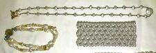 Vintage Freshwater Pearl Necklace Bead Pearl Bracelet Stretchy Bracelet Set of 3