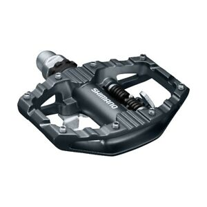 Shimano Pedal PD-EH500, Kombipedal, Klick- und Plattform, in Dunkelgrau