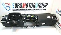 BMW Cruscotto Pelle Dashboard Completo Pelle Nero 8' G14 G15