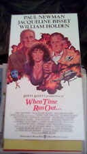 When Time Ran Out... 1980 VHS volcano Paul Newman Burgess Meredith Edward Albert