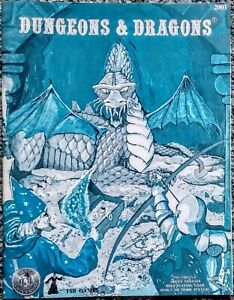 Dungeons & Dragons Blue Book 2001 Silver Anniversary Second Edition