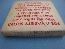VINTAGE .......FILM,RISQUE,...8MM.....'  LINDA DANSON '.......RISQUE,