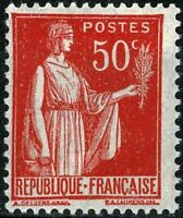 FRANCE 1932 Type paix   YT n° 283  neuf ★★  luxe / MNH