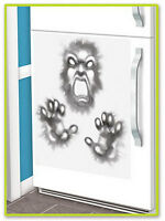 HALLOWEEN HORROR PARTY DEMON FRIDGE DOOR COVER POSTER DECORATION REFRIGERATOR