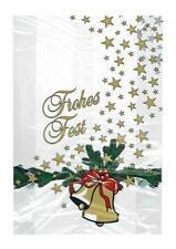 Beutel Stollenbeutel PP Glocke, Christstollen Weihnachtsstollen, 20 + 7 x 56 cm