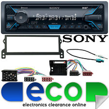 BMW Mini 2001-06 SONY Mechless Bluetooth DAB Car Stereo & Fascia Fitting Kit