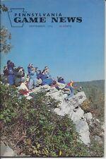 Pennsylvania Game News September 1979 cover by Joe Osman Hawk Mountain