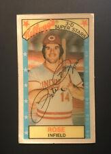 1979 Kellogg's 3-D Super Stars #22 Pete Rose HOF EX-EXMINT