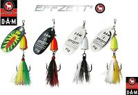 Fishing Lures Spinners DAM EFFZETT EXECUTOR DRESSED Sea Trout Pike Perch Tackle