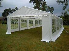 Partyzelt 5x10 m Pavillon PE Gartenzelt Zelt Vereinszelt Bierzelt Neu !