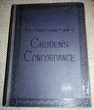 Cruden's Concordance to the Holy Scriptures on the basis of Cruden 1929 HB  VGC