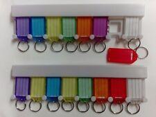 2x 9er Set Schlüsselanhänger + Halter Schlüsselschilder für Pension Hotel Haus