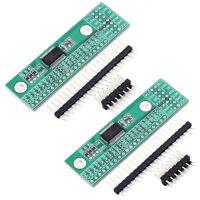 2pcs SPI Converter PinBoard 16Bit I/O Extended Module MCP23S17-E/SS for Arduino