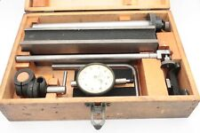 Rare Federal Inspection Set With C 81 Indicator 001 T Slot H Base Excellent